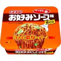 삿포로이치방 컵라면 오타후쿠 오코노미소스맛 볶음면 124g